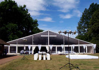 Chiny Modular Aluminium Frame Tents Event Tent White Fabric Cover 100km/h fabryka
