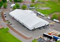 Chiny Rainproof Fabric Sidewall Strong Event Tent Accommodation With Heavy Duty Material fabryka
