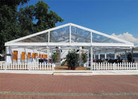 Chiny Aluminum Alloy Easy Set Up Clear Event Tent Flame Resistant 18m * 20m Canopy fabryka