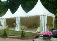 dobra jakość Outdoor Event Tents & White Pagoda Tents 5m * 5m UV - Resistant  Garden Wedding Reception na wyprzedaży