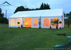 dobra jakość Outdoor Event Tents & White Roof  Durable Event Tents With Linings And Curtains 10m * 15m na wyprzedaży