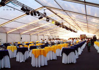 dobra jakość Outdoor Event Tents & Modular Frame Transparent Tent For Wedding Party Decorative Drapes na wyprzedaży