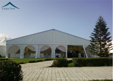 Chiny Large Scale Temporary Aluminium Frame Tents With Clear Windows For Function Banquet Export to South Africa dystrybutor