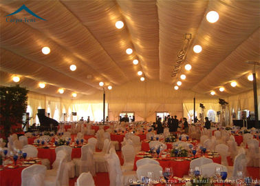 Chiny 20 x 30 Large Wedding Tent  Luxury Linings / Curtains  400 People Parties dystrybutor