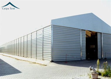 Chiny Aircraft Hangar Temporary Warehouse Building With Heavy Duty Materials 10m * 20m dystrybutor