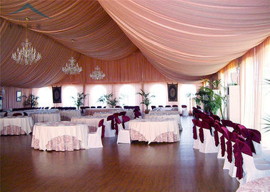 Chiny A - Frame Outdoor Event Tents With Roof Linings And Curtains  Inner Decoration dystrybutor