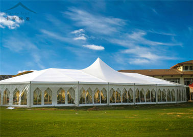 Chiny Flexible And Luxurious Euro Mixed Wedding Marquees For Outdoor Events dystrybutor