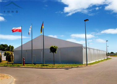 Chiny All Weather Industrial Warehouse Tents Waterproof / Fire Retardant dystrybutor