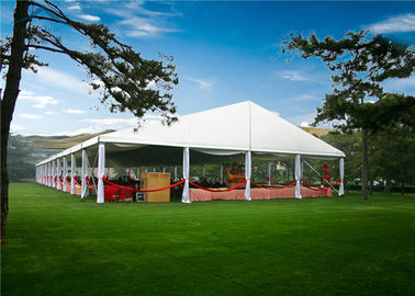 Chiny Multi - Functional European Style Tents With VIP Cassette Wooden Flooring System dystrybutor